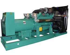 50Hz 1000kVA 800kw Genset Diesel com o dossel do recipiente do ATS