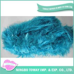 Lã de poliéster de alta resistência de tecelagem de fio de algodão de fantasia -1