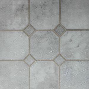 Tegels van de Vloer Vinly van pvc de Lei In reliëf gemaakte