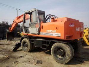 Hitachi EX160WD usadas de excavadora de rueda /Ex60-1 Ex100WD120W200-1 Ex Ex Excavadora de ruedas