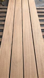 Resistente al agua y la decadencia S4s al aire libre revestimientos de madera de teka africana