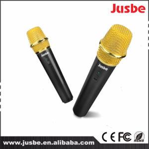 최신 판매 플라스틱 휴대용 Karaoke Bluetooth 스피커