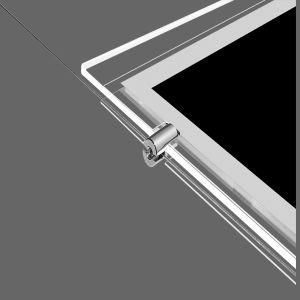 エッチングのロゴの水晶LEDの軽いポケット