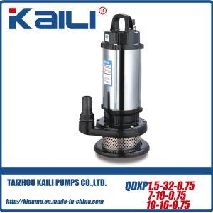 Dernière conception de pompe submersible QDX avec une grande tension (150V-240V)