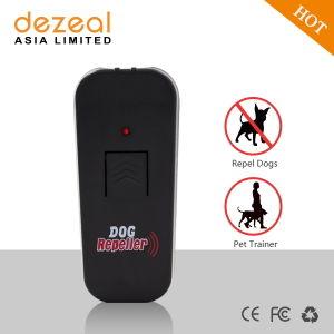 Dezeal Dz-206 Portable poderoso perro Repeller ultrasónico y Pet Trainer