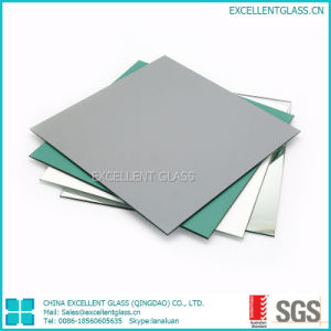 3mm-8mm Silver Miroir, Miroir sans cuivre, de couleur Miroir, Miroir de sécurité fournisseur soutenus de vinyle