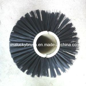 Pp neri e spazzola d'acciaio della spazzatrice di strada della miscela (YY-154)