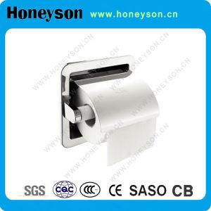 Support de papier hygiénique en chorome en acier inoxydable