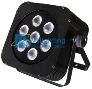 LEDはPAR/Stage軽い7*10W RGBW 4in1多色刷りLEDの壁の洗濯機ライトの地図をつくる
