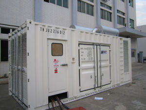 1250kVA tipo silenciosa de Alimentação Diesel Cummins Geneset (ATJ50-G3)