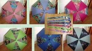 19人の * 8k子供のPoeの傘(同じ色笛と)