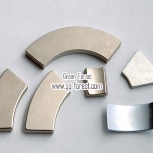 Никелированные дуги NdFeB магниты с высокой степенью интеграции в соответствии магнитные свойства