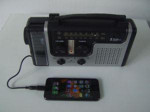 شمعيّة مولّد طارئ [فم] راديو مع ذراع تدوير, هاتف شاحنة بقاء