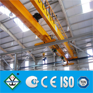 Prestaciones medias viga doble puente grúa (izq.) haz doble grúa Grúa para la fábrica de papel