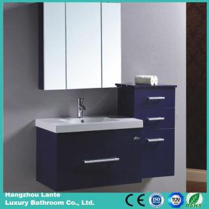 Cerámica de PVC de cuarto de baño con lavabo y espejo (LT-C046)