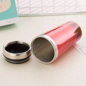 doppel-wandige mehrfachverwendbare Becher-Kaffeetasse des Arbeitsweg-450ml