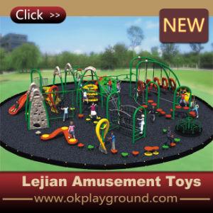 Beau terrain de jeux de plein air d'Amusement coloré de la maternelle de l'équipement