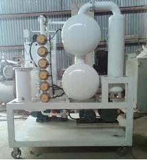Purificadores de aceite del transformador de vacío Double-Stage
