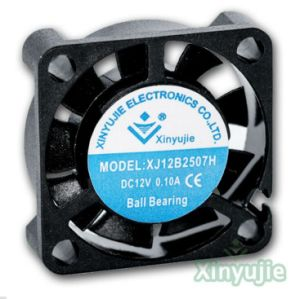 5V 12V 25mm Micro- Minigelijkstroom Ventilator van uitstekende kwaliteit 25X25X07mm