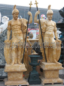 Карвинг каменные статуи мраморные скульптуры для сада (Си-X1183)