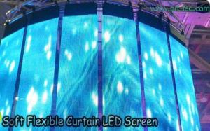 Pleine couleur P9.375 incurvée de l'écran LED pour intérieur/extérieur