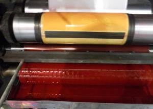 Stampatrice di Flexo del documento di contrassegno dell'autoadesivo di colore di Rtry-320d 4
