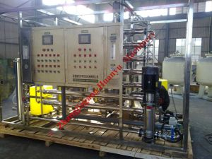 Water Treatment System with R/O 3.5t/H