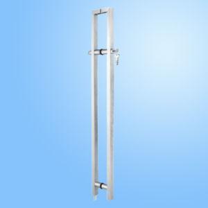 Fechadura da porta de vidro fabricado em aço inoxidável