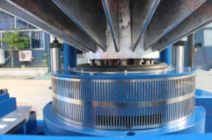 Electrodynamic mesa vibratoria de alta frecuencia de vibración con el horizontal