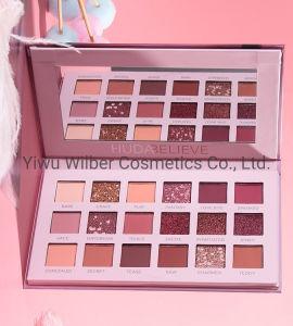 18 cores olhos paleta de maquiagem Pó Shimmer Pigmentos Eyeshadow