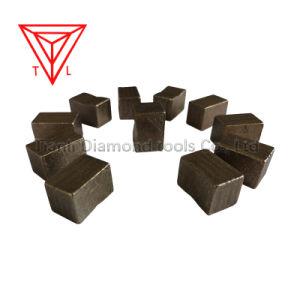 Minería eficiente utilizar segmentos de diamante de corte de Granito