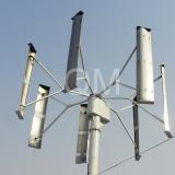 縦の軸線の風力(発電機) 10KW