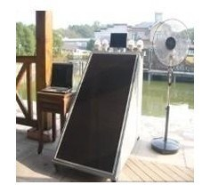 太陽エネルギーの発電機