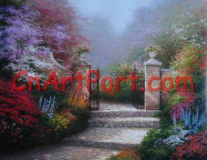 Het Schilderen van de tuin (APOR0031)