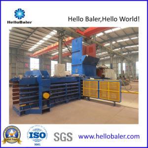 Resíduos de papel hidráulico automático Pressione a máquina de enfardamento comprimindo o plástico
