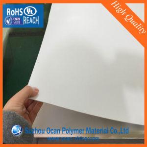 Het 0.8mm Stijve Witte pvc- Blad van uitstekende kwaliteit voor de Druk van het Scherm