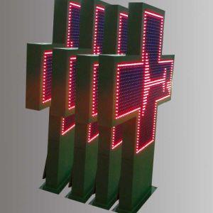 P16 ROUGE LED Croix de la pharmacie d'affichage en plein air