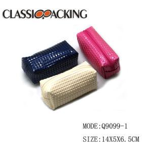 Im Siebdruckverfahren herstellender Schönheit PU-koreanischer Reißverschluss-Kosmetik-Beutel