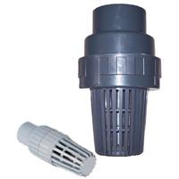 """Clapet de pied en PVC (DN20-DN150 (3/4""""-6""""))"""