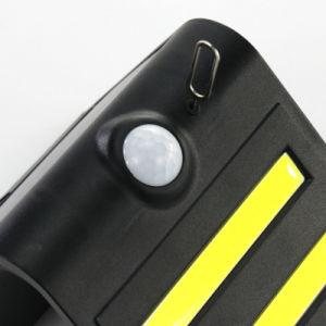 Sensor esperto com luz solar da parede do diodo emissor de luz da bateria de lítio 1.5W