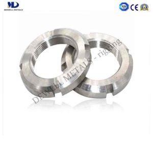 Acier inoxydable DIN 980 Insert métallique de l'écrou de blocage