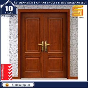 porte double en bois moderne entr e principale porte en
