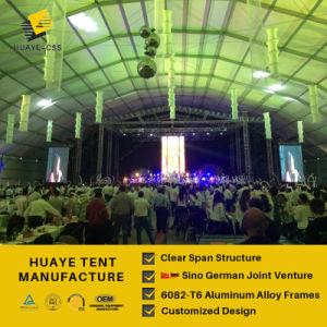 Huaye Semi-Permanent personnalisé grand toit en cas parti tente de renom