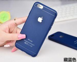 De uiterst dunne Zachte Dekking van de Huid van het Geval van het Silicone TPU Rubber Achter voor iPhone van de Appel
