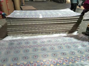 2,0 mm de grosor de madera contrachapada de poliéster de papel