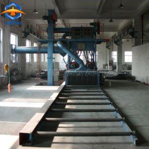 Tipo continuo macchina del Pass-Through del rullo di serie Q69 di granigliatura della lamiera di acciaio del piatto d'acciaio