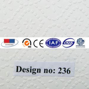 Placa de teto de gesso laminado de PVC com revestimento de alumínio236