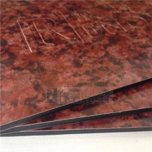 Regarder la pierre de marbre de textures panneau sandwich en aluminium
