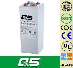 de Batterij 2V1500AH OPzV, GELATINEERT de Tubulaire Batterij van Aicd van het Lood van de Batterij van de ZonneMacht van de Cyclus van de Batterij UPS EPS van de plaat Diepe Klep Geregelde 5 Jaar van de Garantie, >20 het Leven van jaren