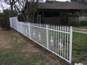 力の上塗を施してある鋼鉄安全プールの金属の塀のパネル